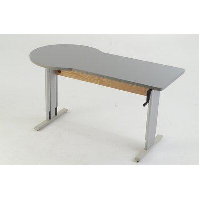 60'' W Maciejewski Height Adjustable Training Table Tabletop Finish: American Maple
