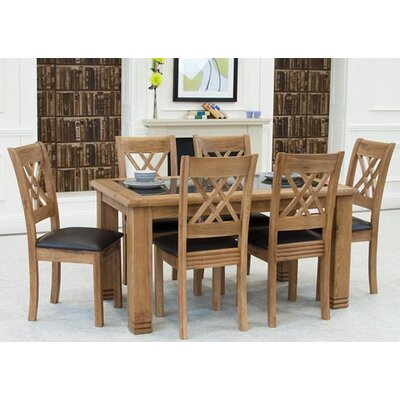 FLI Grant Dining Table and 6 Chairs