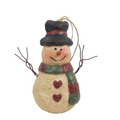 Chubby Snowman Ornament