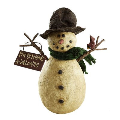 Collectible Frosty Friends Welcome Snowman