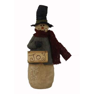 Joy Snowman Figurine Collectible