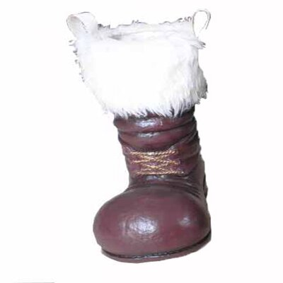 Santa Boot Color: Red and White