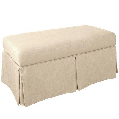 Storage Bench Body Fabric: Patriot Jute