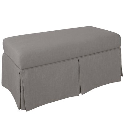Storage Bench Body Fabric: Duck Grey