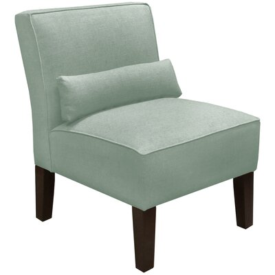 Thurston Slipper Chair Upholstery: Linen Swedish Blue