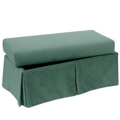 Storage Bench Body Fabric: Velvet Caribbean