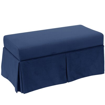 Storage Bench Body Fabric: Velvet Navy