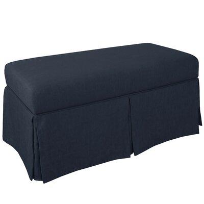 Storage Bench Body Fabric: Linen Navy