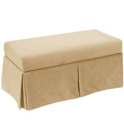 Storage Bench Body Fabric: Velvet Buckwheat