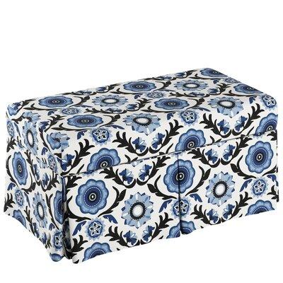 Storage Bench Body Fabric: Tulum Blue