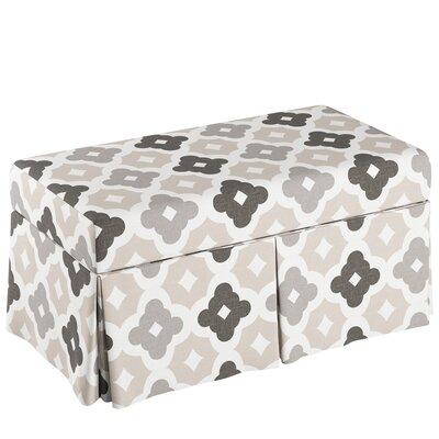Storage Bench Body Fabric: Sintra Taupe