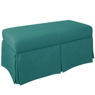 Storage Bench Body Fabric: Linen Laguna