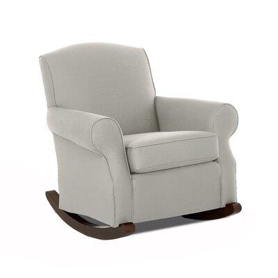 Marlowe Rocking Chair Body Fabric: Windowpane Poppy