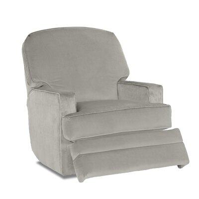 Bridger Swivel Gliding Reclining Chair Body Fabric: Sunbrella Cast Silver