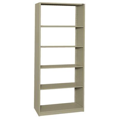 "4Post-In-A-Box 36"" H Six Shelf Shelving Unit Add-on Size: 36"" H x 88.25"" W x 18"" D, Color: Bone White"