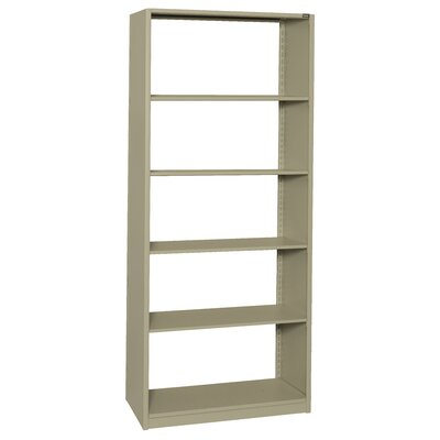 "4Post-In-A-Box 36"" H Six Shelf Shelving Unit Starter Color: Light Gray, Size: 36"" H x 88.25"" W x 24"" D"