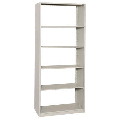 "4Post-In-A-Box 36"" H Six Shelf Shelving Unit Starter Size: 36"" H x 88.25"" W x 18"" D, Color: Light Gray"