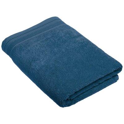 6 Piece 100% Cotton Towel Set Color: Denim