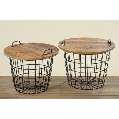 Boltze 2-Piece Flexo Basket