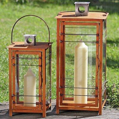Boltze Ancona 2-Piece Lantern Set