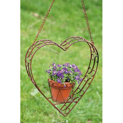 Boltze Heart Hanging Planter