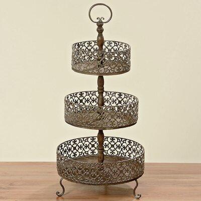 Boltze Amira 3 Tier Decorative Etagere