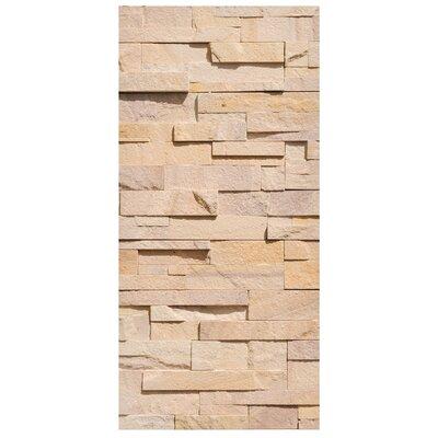 Mantiburi Paneel Wall of Ashlar Photodruck