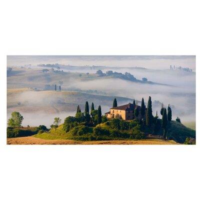 Mantiburi Paneel Landgut in der Toskana Photodruck