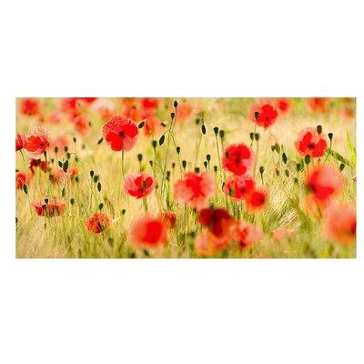 Mantiburi Paneel Summer Poppies Photodruck