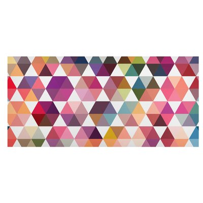 Mantiburi Paneel Hexagon Facetten Photodruck
