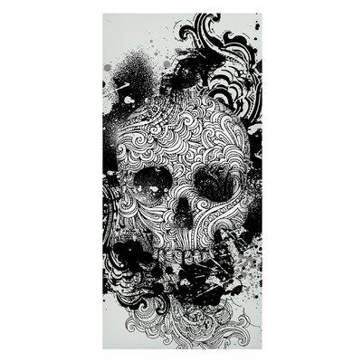 Mantiburi Paneel Skull Photodruck