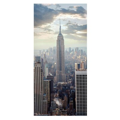 Mantiburi Paneel Sonnenaufgang in New York Photodruck