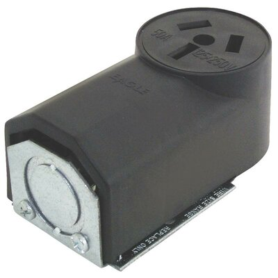 50A 3 Wire Range Power Receptacle