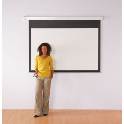 Metroplan White Electric Projection Screen