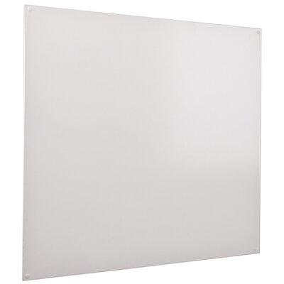 Metroplan Wall Mounted Whiteboard, 120cm H x 120cm W