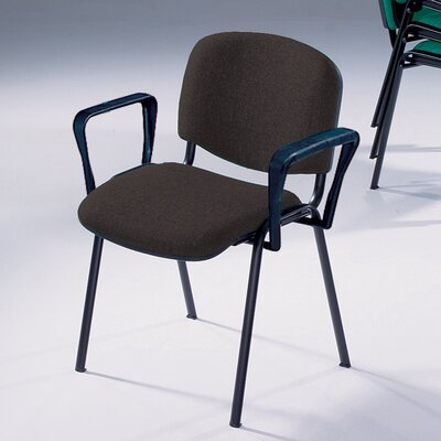 Metroplan Jane Armless Meeting Room Stacking Chair with Cushion