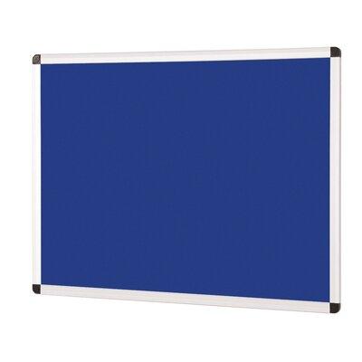 Metroplan Wall Mounted Bulletin Board, 45cm H x 60cm W