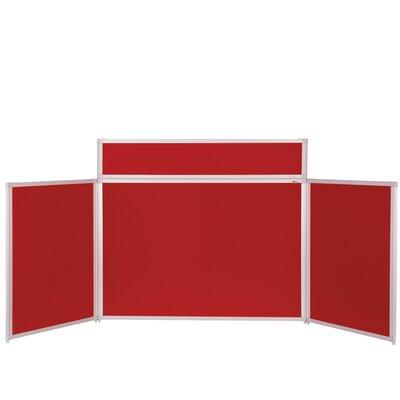 Metroplan Busyfold Free-Standing Bulletin Board, 90cm H x 200cm W