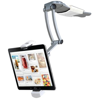 2-in-1 Kitchen Mount for iPad and Tablets Stand