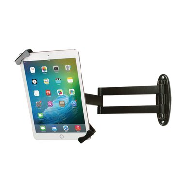 Articulating Security Wall Mount for iPad and Tablet Mounting System