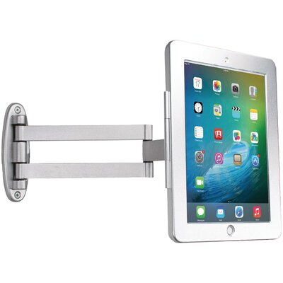 Articulating Wall-Mounting Security Enclosure for iPad Mounting System