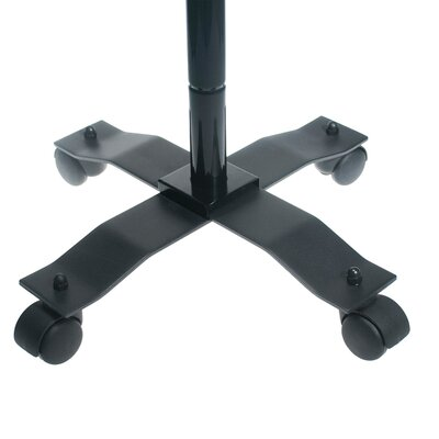 Compact Security Gooseneck Floor Stand with Lock and Key Security System for iPad and Tablet Mounting System