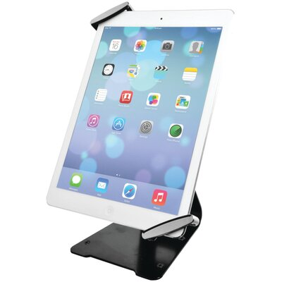 Universal Antitheft Security Grip Tablet Mounting System with Stand