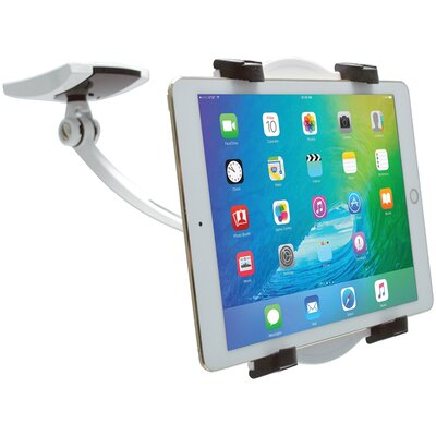 Wall Under-Cabinet and Desk Mount iPad and Tablet Mounting System
