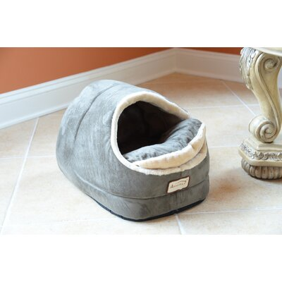 Cat Bed Color: Sage Green and Beige