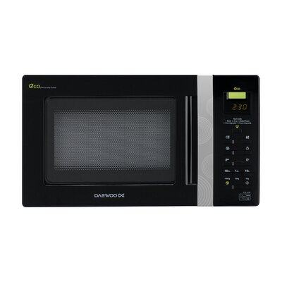 Daewoo Touch Control Microwave Oven in Black