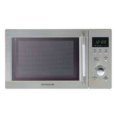 Daewoo Touch Control Solo Microwave Oven in Silver