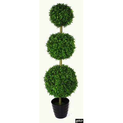 Geko Products Artificial Grass Topiary Tree