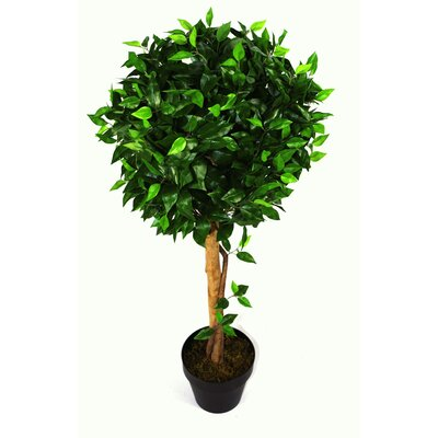 Geko Products Artificial Ficus Ball Tree