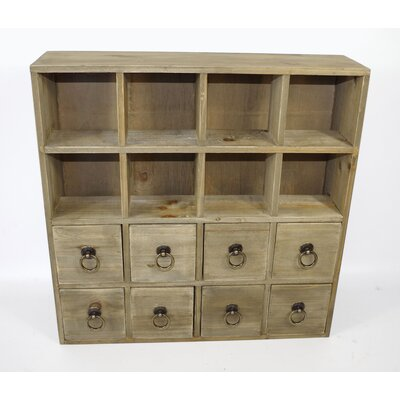 Geko Products Multidrawer 8 Drawer Chest